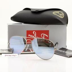 Ray-Ban 019/W3 Silver Sunglasses 58mm