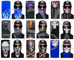 1 Face Mask Sun Shield Neck Gaiter Balaclava Neckerchief Ban