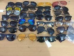 100 BULK LOT SUNGLASSES mens women glasses eyewear sunglass