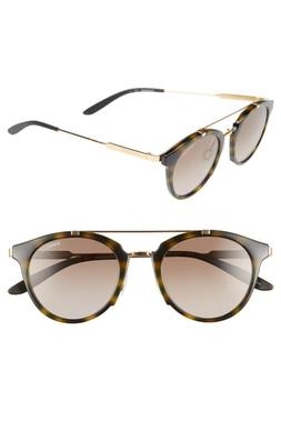 Women's Carrera 126 49Mm Sunglasses - Yellow Havana Gold