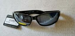 $19.99 Foster Grant Polarized Sunglasses Black Frames Gray L