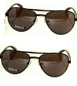 2 pair Foster Grant Adventurer Sunglasses Black Gray Lens Re