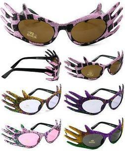 2 pair HANDS NOVELTY PARTY GLASSES sunglasses #286 men ladie