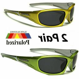 2 pair polarized mens anti glare fishing