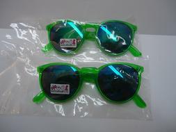 RETRO Style MIRRORED SUNGLASSES for KIDS new 100% UV PROTEC
