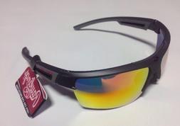 Rawlings 26 Men's Wrap Adult Sport Sunglasses Baseball Grey/