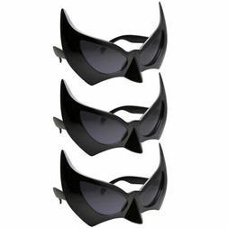 3 Pack Bat Masquerade Mask Costume Sunglasses