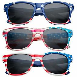 3 Pack | Combo | Kids American USA Flag Sunglasses for Boys