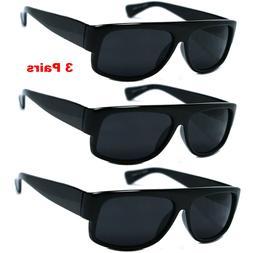 3 PACK LOT Wholesale Bulk Sunglasses Super Dark EAZY E OLD S