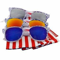 "3 Pack USA US Limited Edition""Arctic Denim"" American Flag Mi"