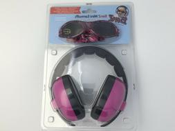3month sunglasses and earmuffs duo magenta protection