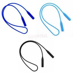 3pc Silicone Rubber Neck Cord Lanyard Glasses Spectacles Sun