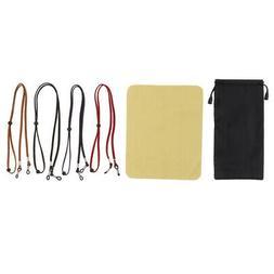 4Pcs Adjustable Eyeglass Sunglass Rope Sports Eyewear Retain