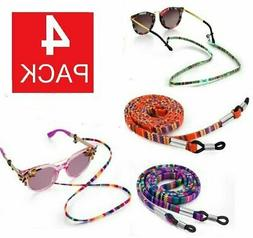 4Ps Adjustable Sunglasses Neck Cord Strap Eyeglass Glasses S