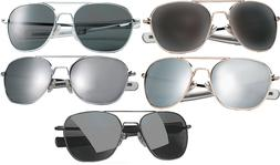 52MM Aviator Military Air Force Pilot Sunglasses Lenses with