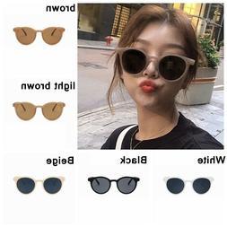 6 Colors Women Sunglasses Vintage Frame Glasses Sun Eyewear