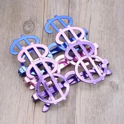 6Pcs/set Dollar Symbol Design Sunglasses Party Favors Party