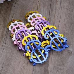 6Pcs/set Plastic Sunglasses Costume Party Party Favors Eyegl