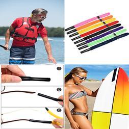 8 PC Adjustable Sunglasses Straps Floating Foam Glasses Spor