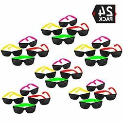 80's Style Neon Party Sunglasses Party Favors Suitable For K