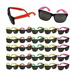 80s Party Neon Prop Sunglasses Pool Party Fillers Beach Part