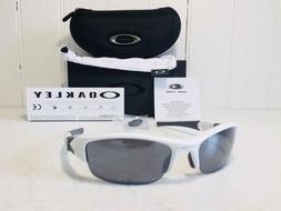 NEW Oakley - Flak Jacket - Sunglasses, Polished White / Blac