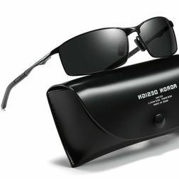 Aluminium HD Polarized Photochromic Sunglasses Men Driving C