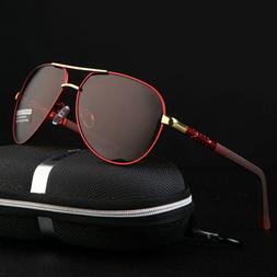 Aluminium HD Polarized Photochromic Sunglasses Pilot Men Dri