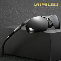 Aluminum Magnesium Men Sunglasses Polarized Eyewear Accessor