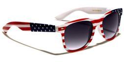 American USA Flag Vintage Sunglasses US Patriotic United Sta