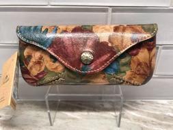 Patricia Nash Ardenza Leather Sunglass Case in Fresco Bouque
