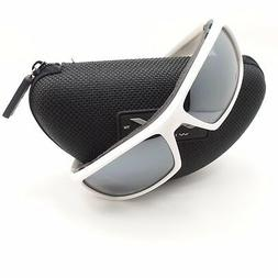 Wiley X Arrow Sunglasses Polarized Silver Flash /Matte White