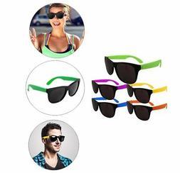 Assorted Color Neon Bright Sunglasses Shades Pool Luau Beach