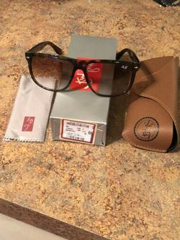 Authentic Ray Ban 0RB4147 Flattop Boyfriend 710/51 Light Tor
