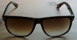 Authentic Ray Ban RB4147 Flattop Boyfriend 710/51 Light Tort
