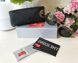 Authentic New Ray-Ban RB 3647N 001 51mm Gold Frame Crystal G