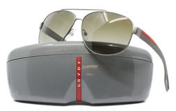 Authentic Prada Sunglasses Men SPS 58Q Grey DG1-1X1 SPS58QS