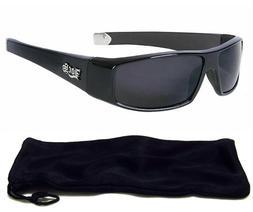 Locs Authentic Sunglasses Super Dark Lenses Motorcycle OG St
