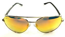 LUENX Aviator Sunglasses Mens Womens Polarized Mirror - UV 4