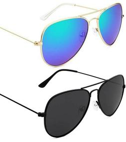 Aviator UV 400 Polarized Mirrored Sunglasses Retro Vintage B
