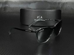 Armani Exchange AX4077S 82556G BLACK TP LT GREY MIR BLK 55 m