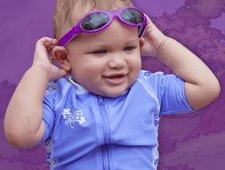 BANZ: Adventure BanZ - KidZ: Purple Kids Sunglasses | Age: 2