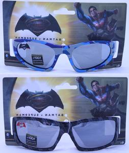 Batman Superman Boy Sunglasses 100% UV Protection Superhero