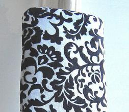 black & white damask Eyeglass case Handmade sunglasses Soft