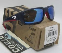 COSTA DEL MAR black/blue mirror STRINGER POLARIZED 400G sung