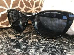 Black Cat Eye Women's Sunglasses Retro Vintage Thick Frame