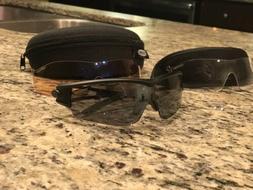 Tifosi Black Cycling Sunglasses w/ Interchangeable Lens - NE