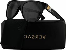 VERSACE black/gray VE4346 GB1/87 57MM sunglasses! NEW IN BOX