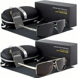 Black Polarized Pilot Men Glasses Outdoor Sports Eyewear Dri