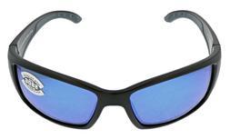 Costa Del Mar Blackfin Blue Mirror 580G Glass Lens Sunglasse